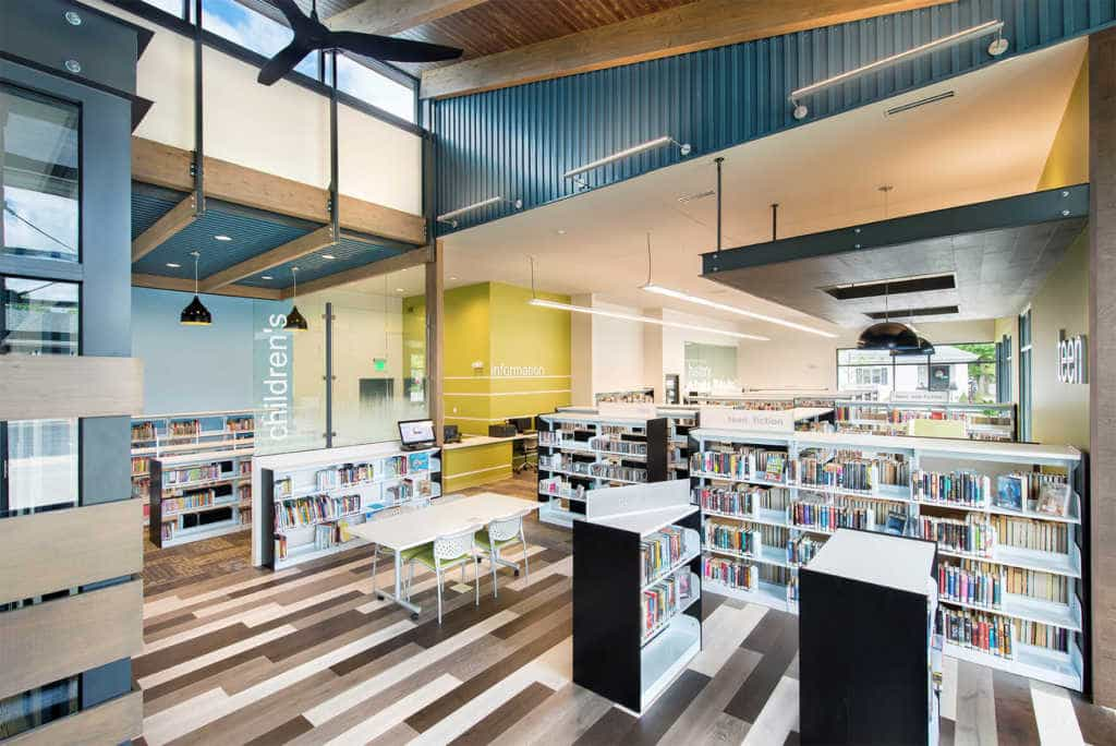 Markle Branch Library recognized with 2017 AIA Indiana Design Award
