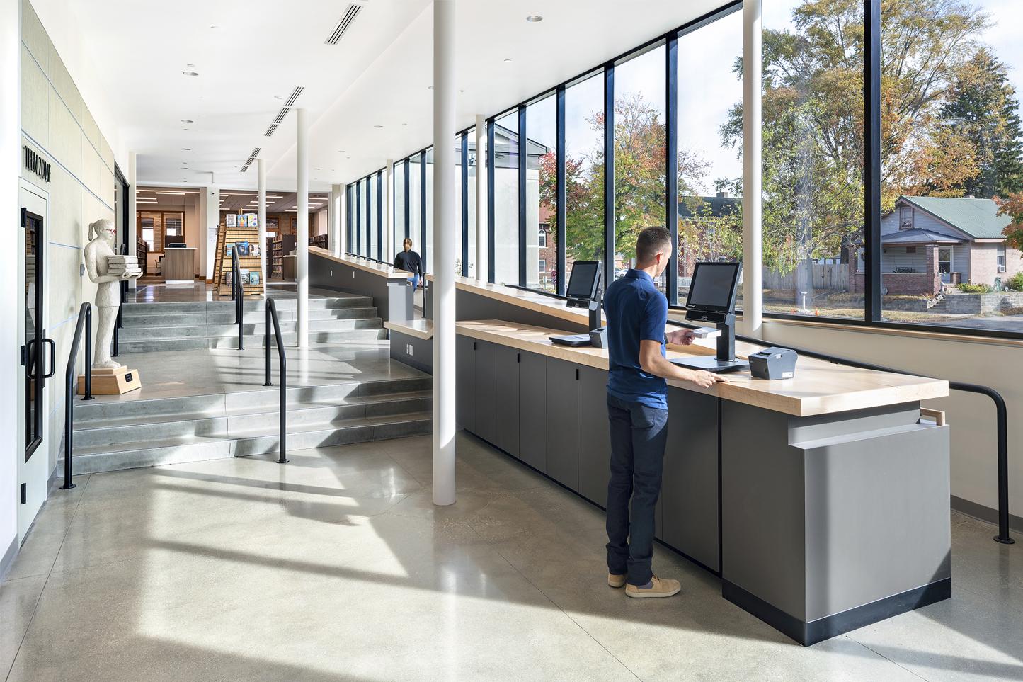krM Architecture – Morgan County Public Library